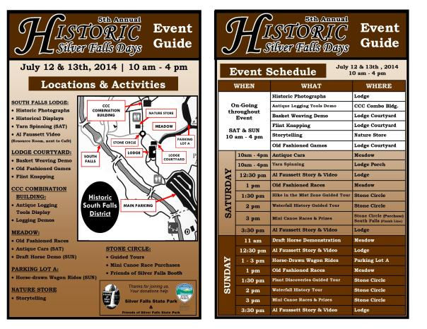2014 Historic Days Event Guide