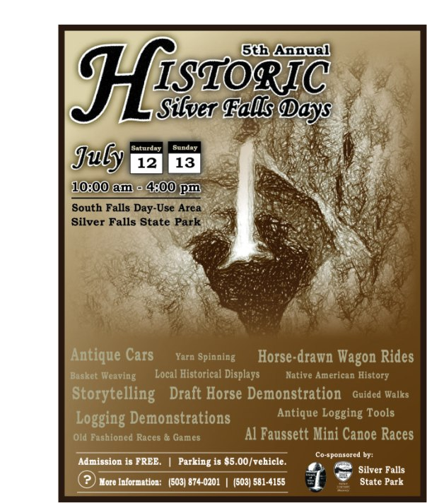2014 Historic Silver Falls Days Poster