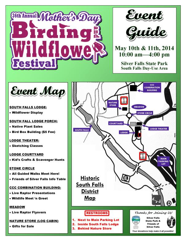 2014 Mother's Day Event Guide Page 1