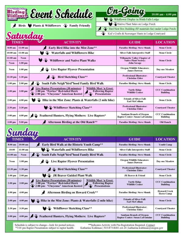 2014 Mother's Day Event Guide Page 2