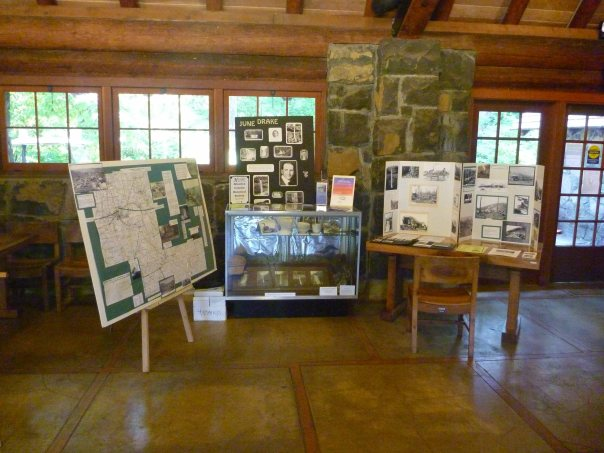 Silverton County Historical Society Display