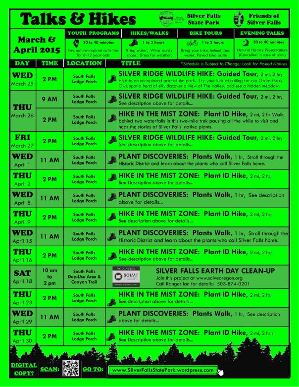 March-April 2015 Program Flyer FULL ONLINE