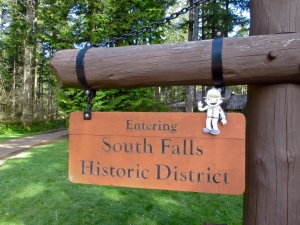 Flat Stanley Historic District Sign