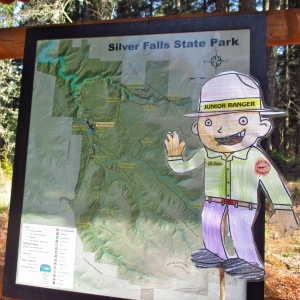 Flat Stanley Map