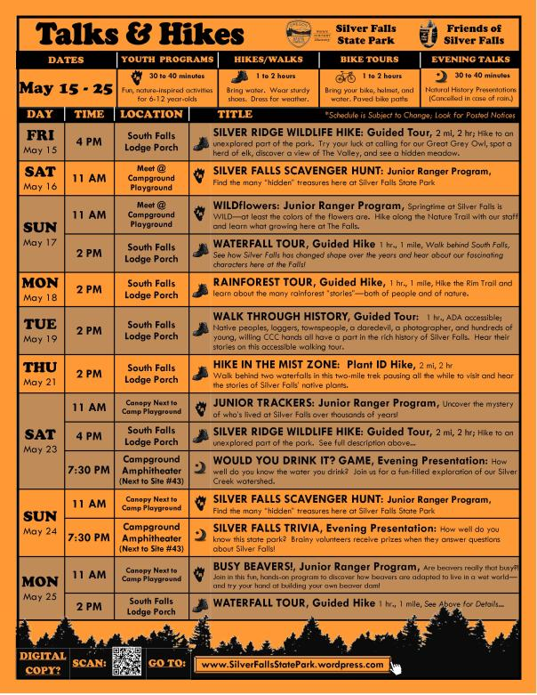May 15-25, 2015 Program Flyer FULL ONLINE