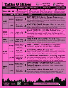 May 25-31, 2015 Program Flyer FULL ONLINE