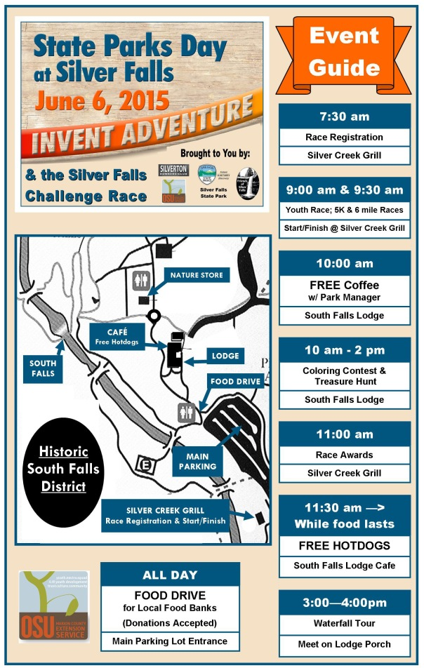 2015 State Parks Day & SFC Race Event Guide Updated