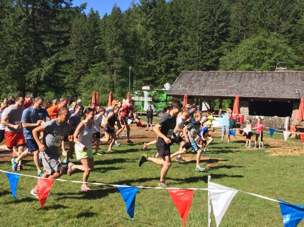 Silver Falls Challenge Race
