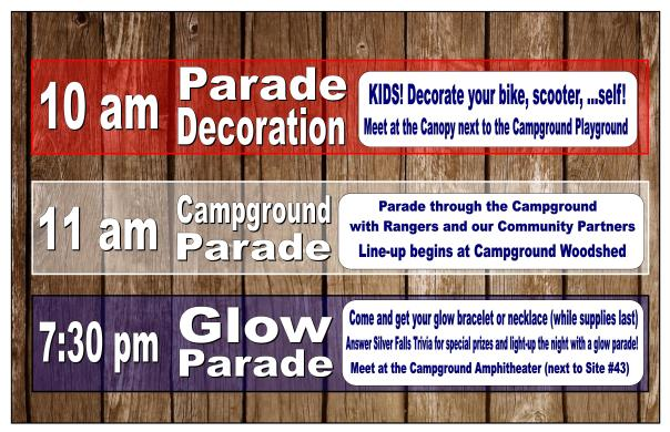 4th of July Activity Sign