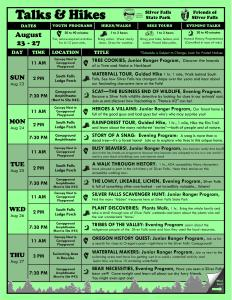 Aug 23-30, 2015 Program Flyer FULL ONLINE 1