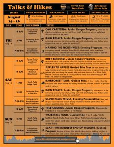 Aug 9-16, 2015 Program Flyer FULL ONLINE 2 UPDATED