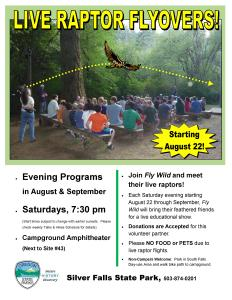 August 2015 Raptor Show Poster UPDATED