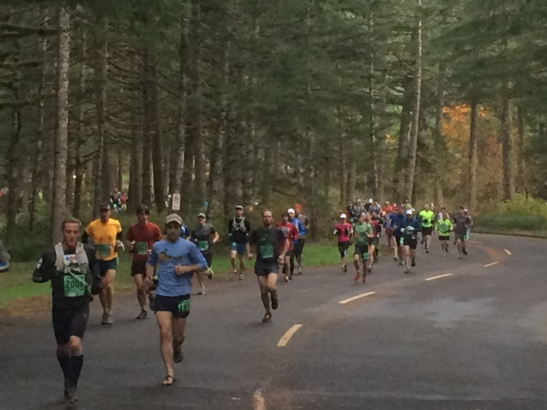 50K Start from State Park Pace Truck