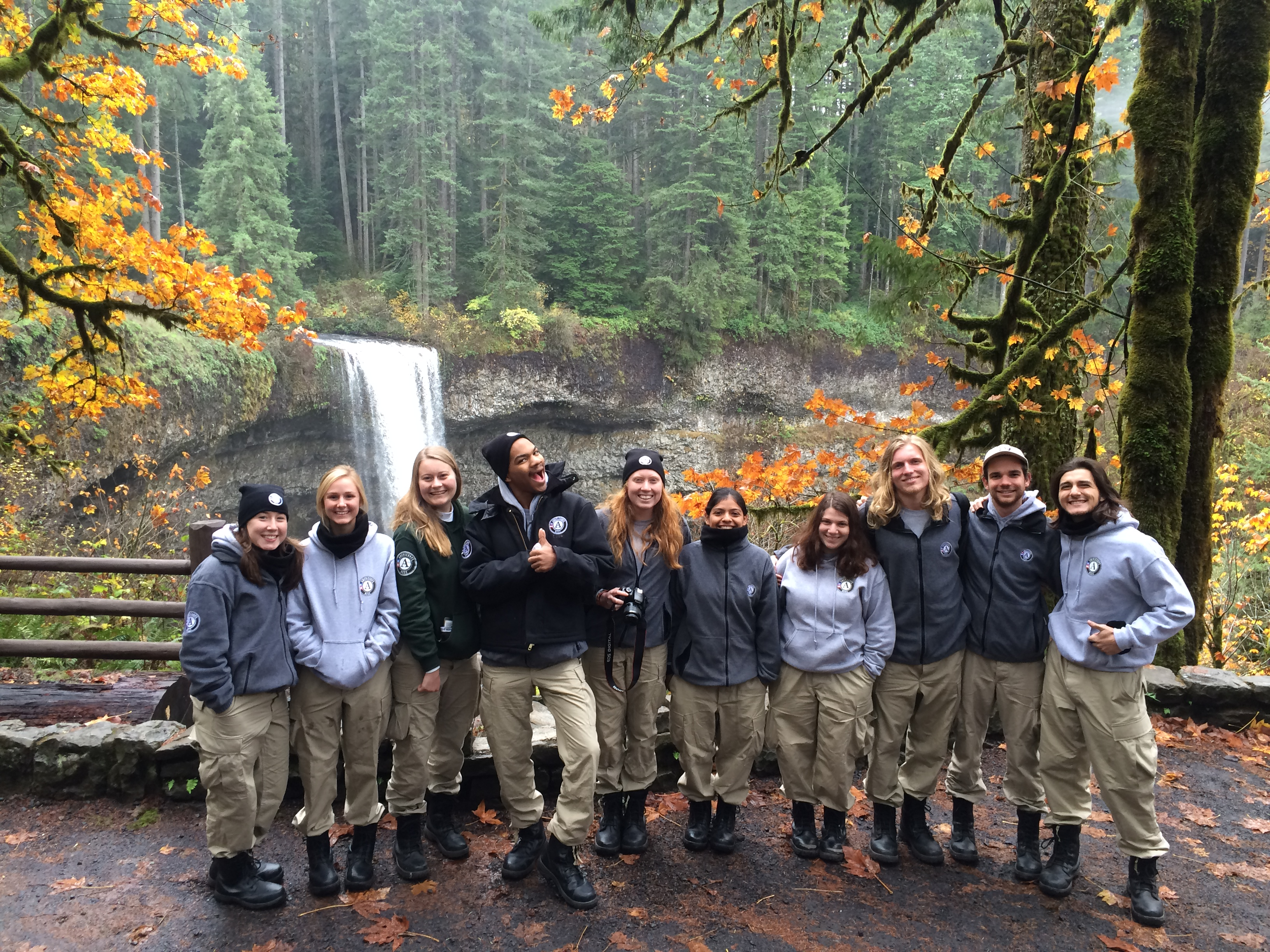 AmeriCorps NCCC | Discover Silver Falls