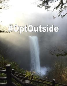 #OptOutside Pic