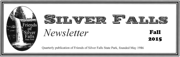FoSF Fall 2015 Newsletter
