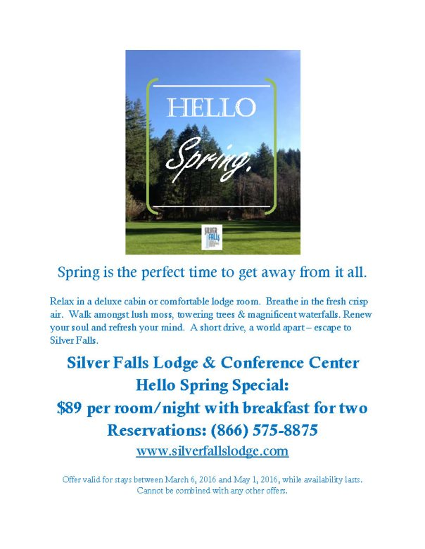 Hello Spring Full Page Flier