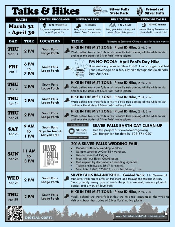 March 31-April 30, 2016 Program Flyer FULL ONLINE