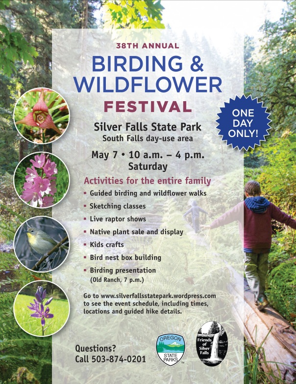 Birding & Wildlflower Poster 2016