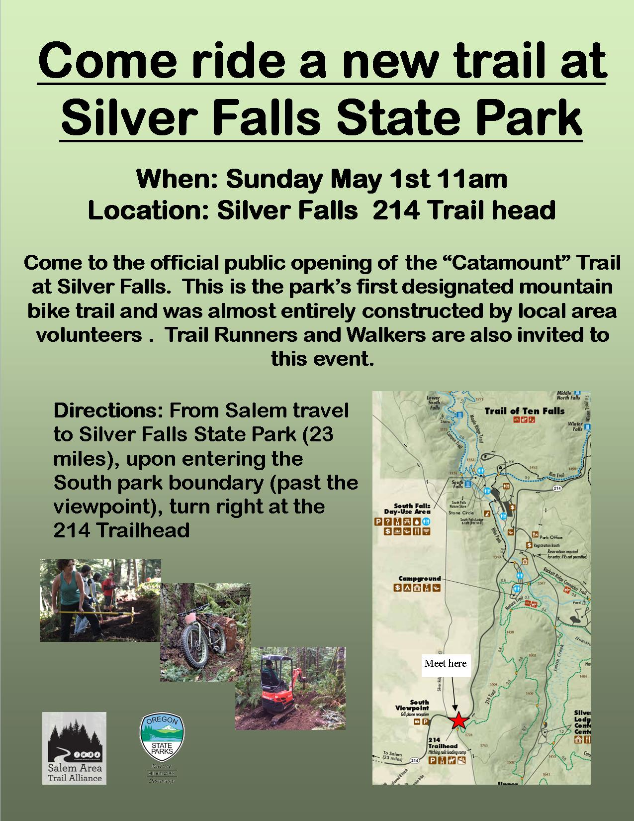 trails   Discover Silver Falls on