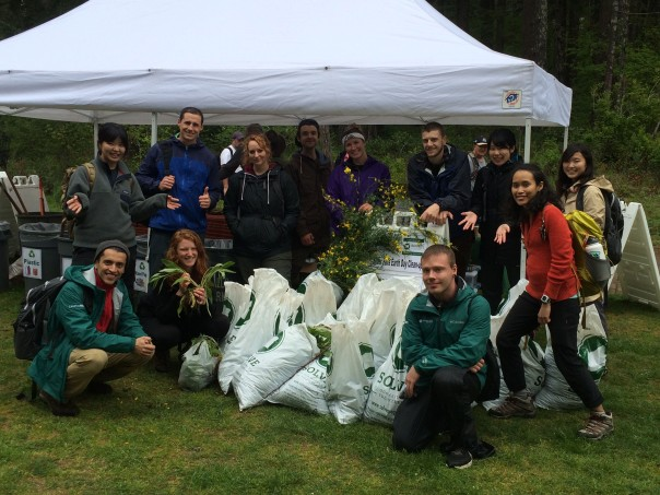 PSU Volunteers Finished