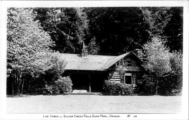 Supervisor's Cabin Postcard