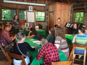 Christine Elder Sketching Class