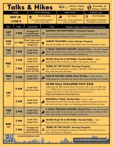 May 28-June 8 Program Flyer