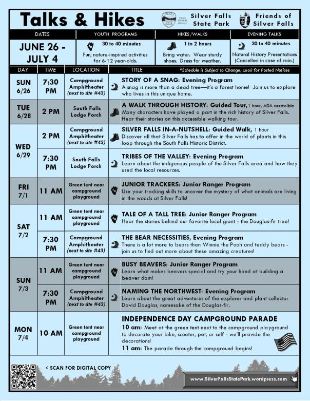 June 26-July 4 Program Flyer for blog