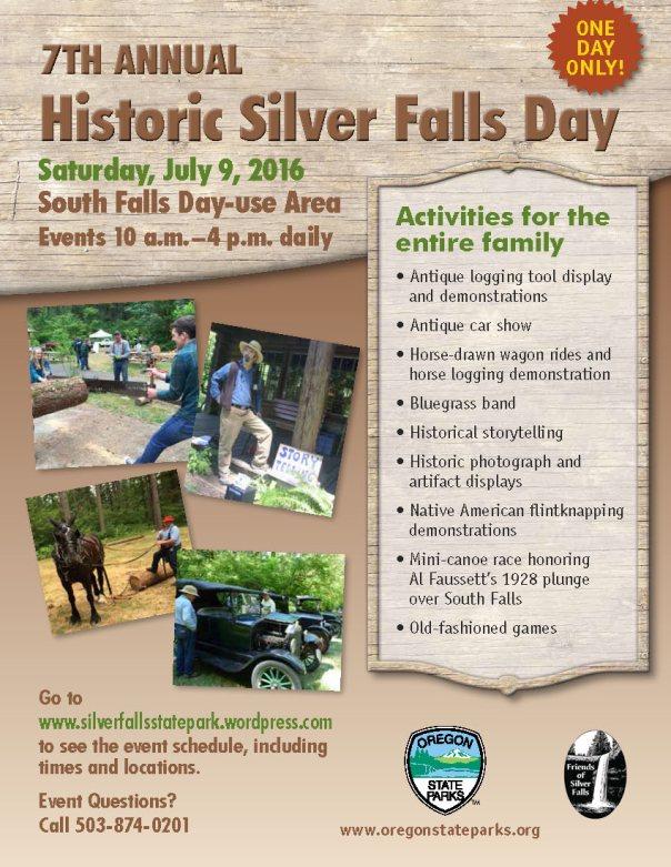 40616 Silver Falls Days Flyer