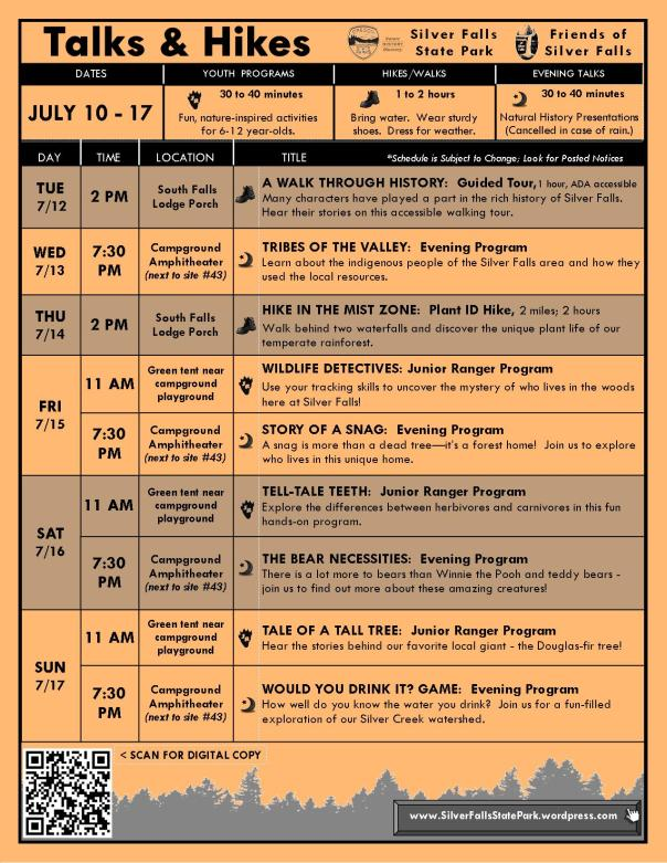 July 10-17 Program Flyer BLOG