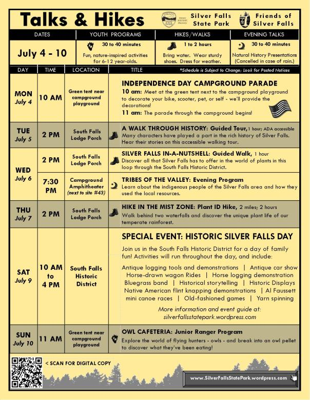 July 4-10 Program Flyer BLOG