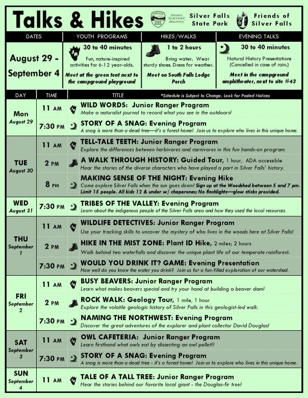 August 29-September 4 Program Flyer BLOG