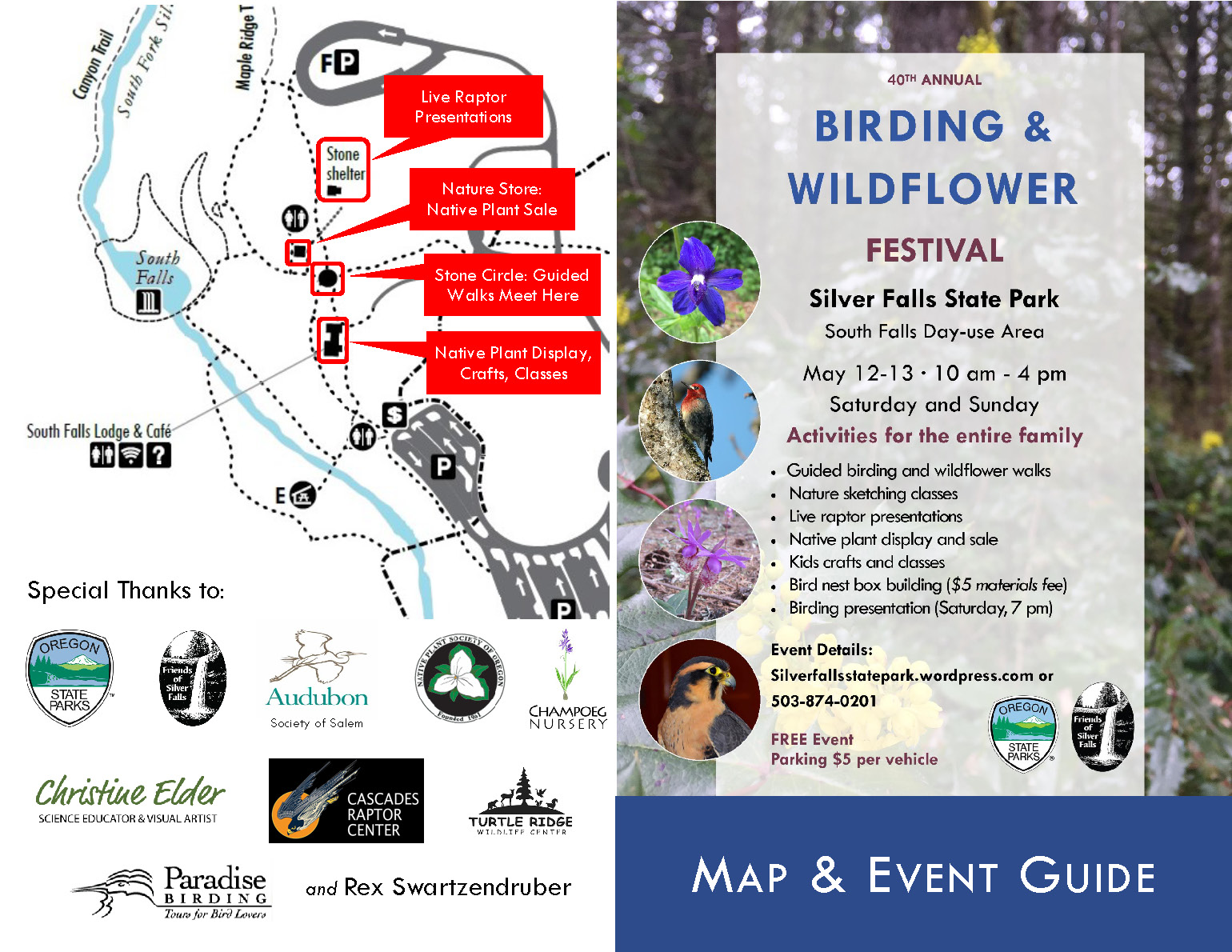 2018 Mother S Day Birding And Wildflower Festival Event Guide