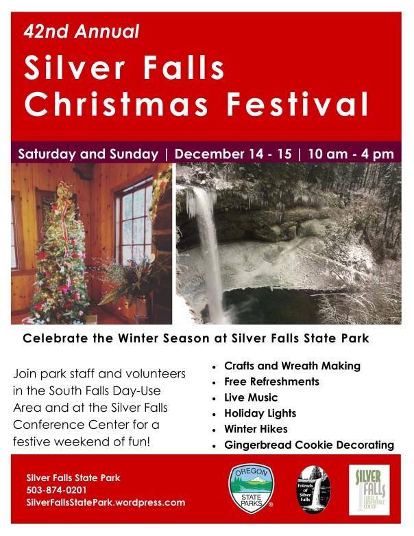 2019 Christmas Festival Flyer